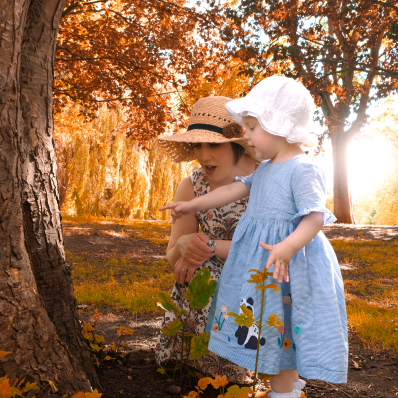 autumn mother and daughter photoshoot worcestershire