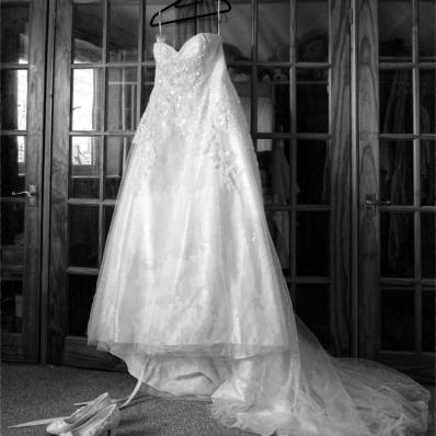 beautiful sequin wedding dress