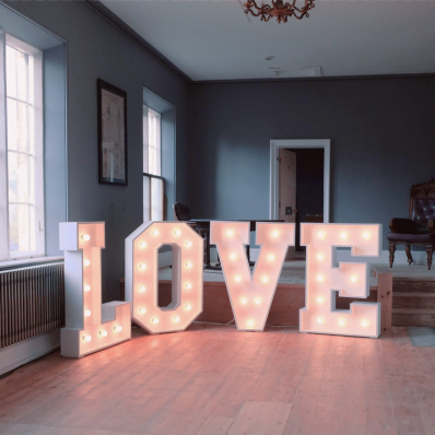 Love sign wedding sessions house spalding