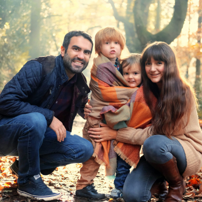 autumn family photoshoot lickey hills birmingham