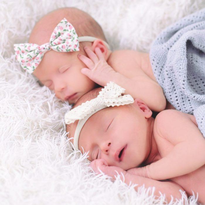 twin newborn girls photoshoot bromsgrove stoke prior